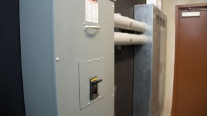 Electrical Room at Hartt Transportation