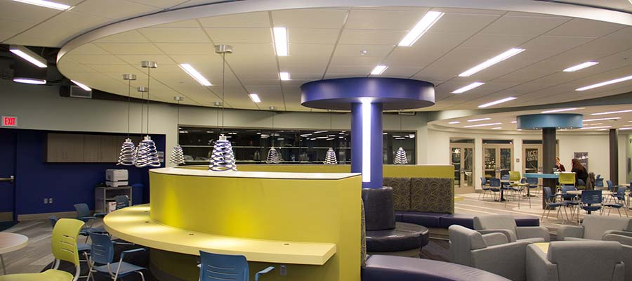 Light fixtures installed at SMCC